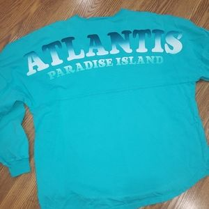 2X Aqua Spirit Jersey from ATLANTIS resort
